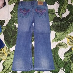 4t Levis bootcut jeans for girls